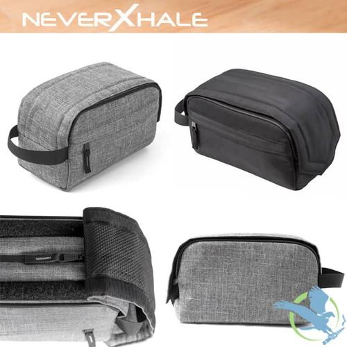 NeverXhale Odor Proof Toiletry Bag With Loop Sealer [NXSPBABK]