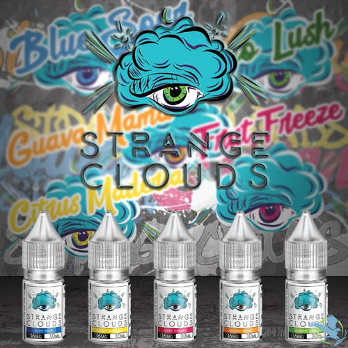 Strange Clouds Nicotine Salt E-Liquid 30ML