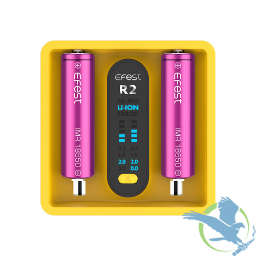 Efest iMate R2 - Dual Slot Battery QC Charger