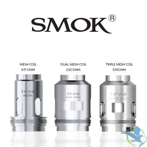 SMOK TFV16 Replacement Coils - Pack of 3