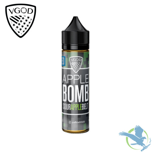 VGOD Bomb Iced Series Premium E-Liquid 60ML - Iced Apple Bomb