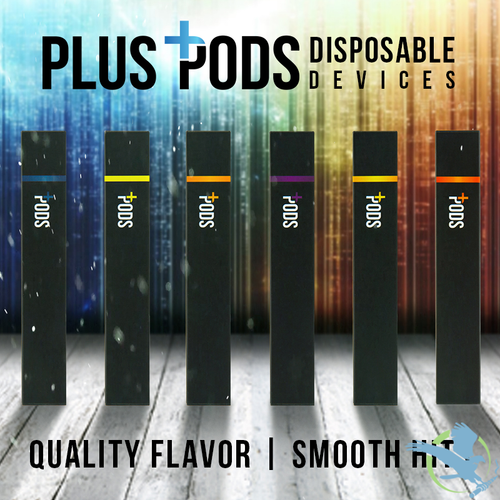 Plus Pods 1.2ML Prefilled Disposable Pod Device - Pack Of 5