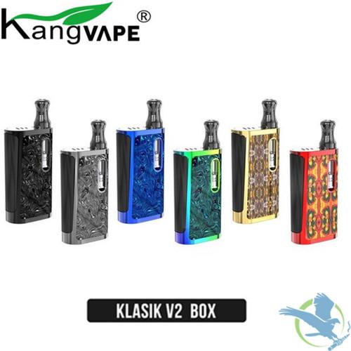 KangVape Klasik V2 650mAh VV Box Starter Kit With Refillable 0.5ML K5 Atomizer