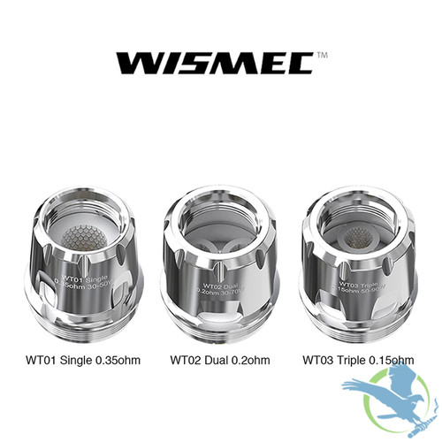 Wismec WT Mesh Replacement Coils - Pack Of 5