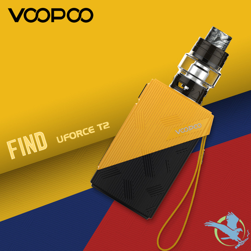 Voopoo Find S 4400mAh TC Starter Kit With 3.5ML / 5ML Uforce T2 Tank