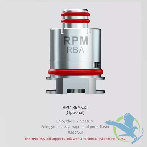 SMOK RPM RBA Replacement Coils - Single