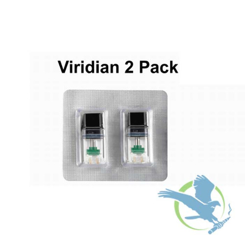 Boulder Viridian 1.5ML Refillable Replacement Pod - Pack Of 2