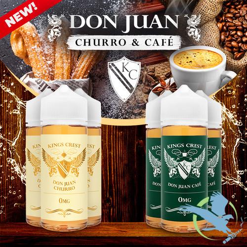 Don Juan By Kings Crest E-Liquid 120ML