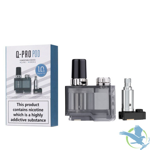 Lost Vape Orion Q-Pro 2ML Refillable Pod With 2 x Replacement Coil - Single
