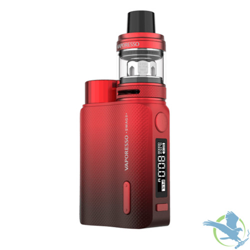 Vaporesso Swag II 80W TC Starter Kit With 3.5ML NRG PE Tank - Red