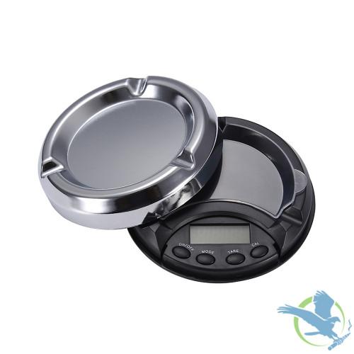Superior Balance Ashtray-100 Electronic Pocket Scale 100g x 0.01g