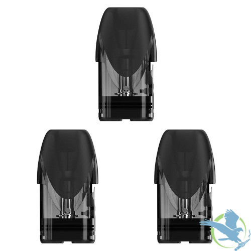 Asmodus Pyke 2ML Refillable Replacement Pod - Pack of 3 - 1.2 ohm