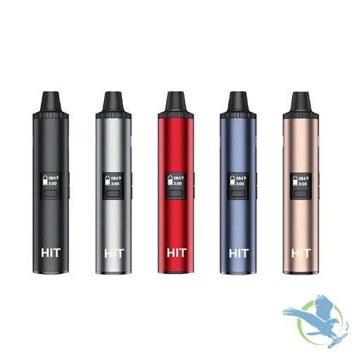 Yocan HIT 1400mAh VV Dry Herb Vaporizer Starter Kit - Black - Silver - Red - Blue - Champagne Gold