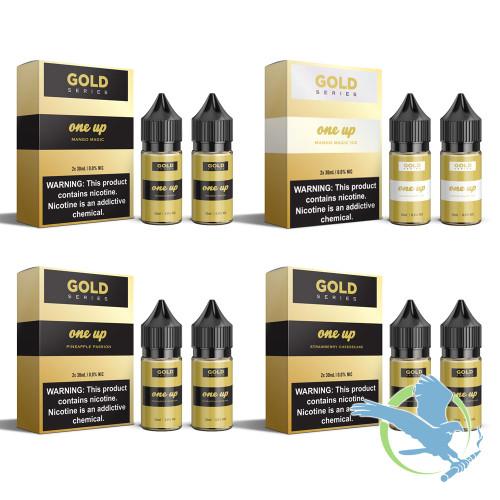 Gold by One Up Vapor E-Liquid 60ML (2 x 30ML)