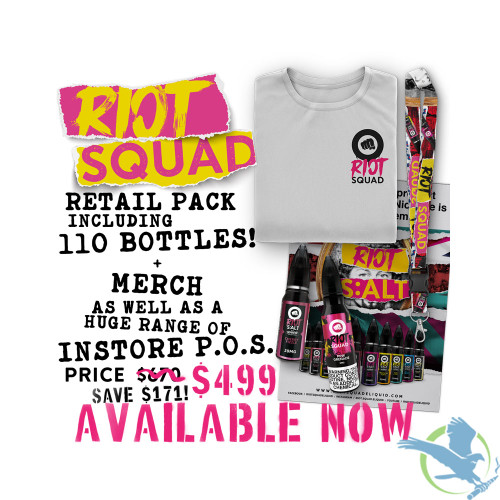 Riot Squad Exclusive Retail Pack - Variety Pack of 110 Bottles