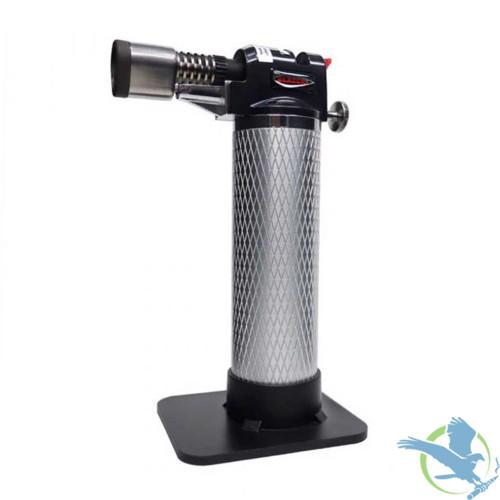 Blazer Stingray Butane Refillable Micro Torch - Silver