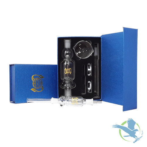 Oath Nectar Collector 19mm - Clear Kit With Titanium Tip