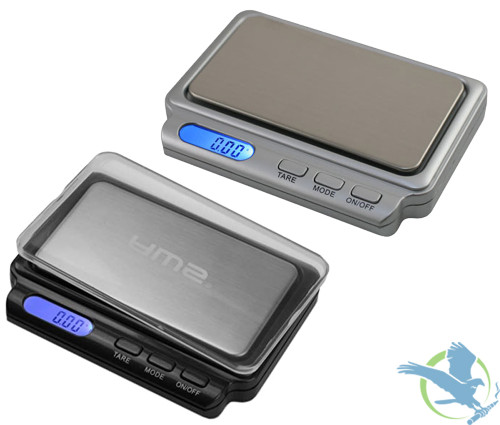 American Weigh Scales CARD-V2-100 Digital Pocket Scale 100 x 0.01g,Gray,Silver