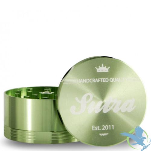 Sutra Aluminum 4 Piece 50mm Grinder - Green