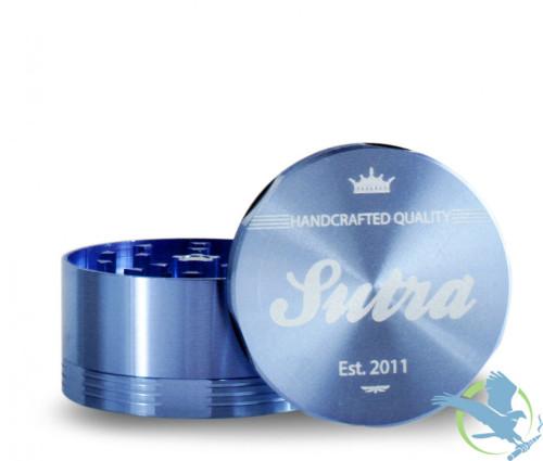 Sutra Aluminum 4 Piece 65mm Grinder - Blue