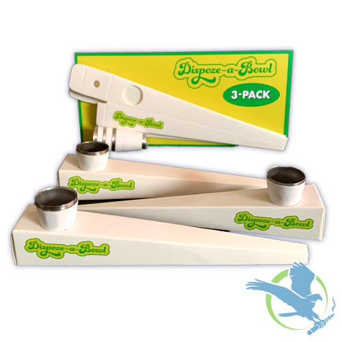 Dispoze-a-Bowl Pre-Rolled 3 Units Per Pack - Box Of 25