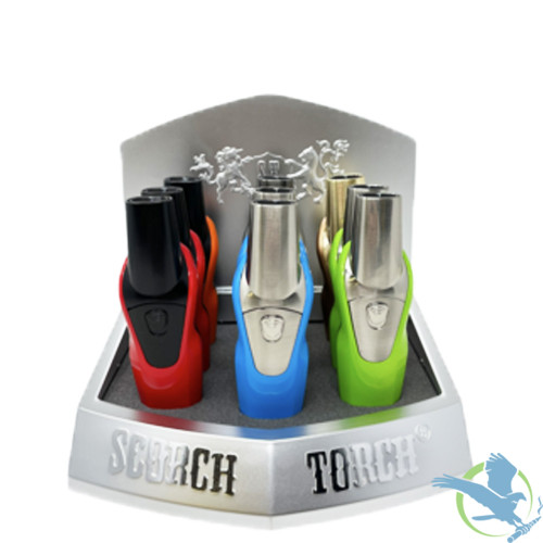 Scorch Torch Venus 2T Torch - Assorted Colors - Display of 9 [61592]