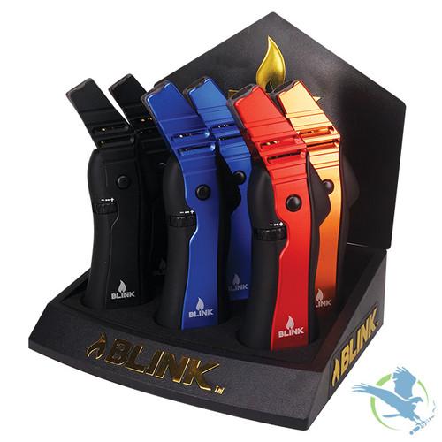 Blink Magnum Adjustable Butane Torch - Display of 6