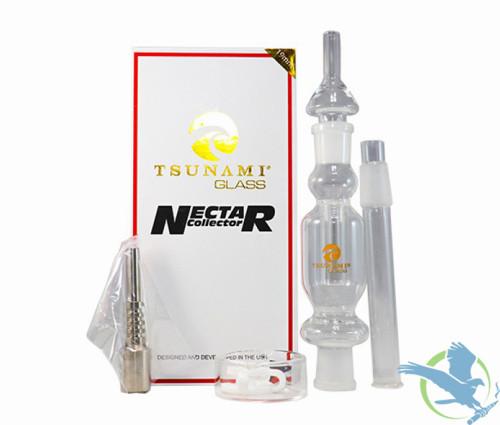 Tsunami Glass 19mm Nectar Collector Kit