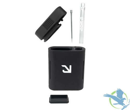 Eyce Solo Silicone Dugout Crafted With Classic Eyce Spins - Assorted Colors - Display of 10 - Black