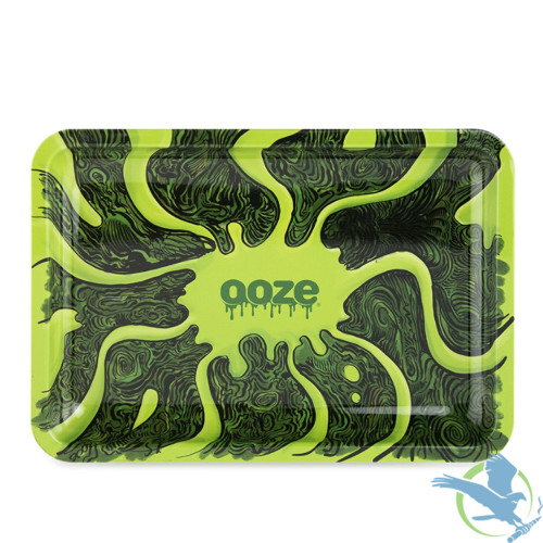 Ooze Metal Rolling Tray - Small - Abyss