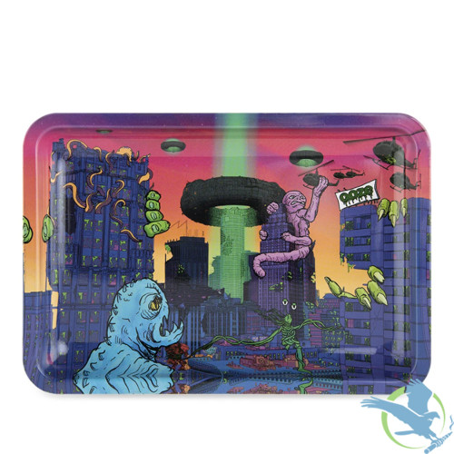 Ooze Metal Rolling Tray - Medium -After Hours