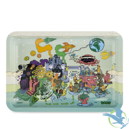 Ooze Metal Rolling Tray - Large - Imaginarium