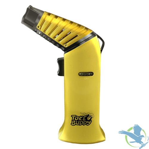 Toke Buddy Twister Butane Torch - Gold