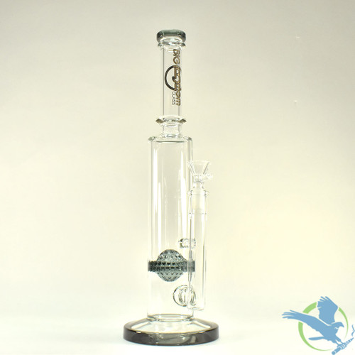 Big B Mom Glass Water Pipe With Honeycomb Perc and Flare Base - 605 Grams - 10.75 Inches - Assorted Colors [BM191]