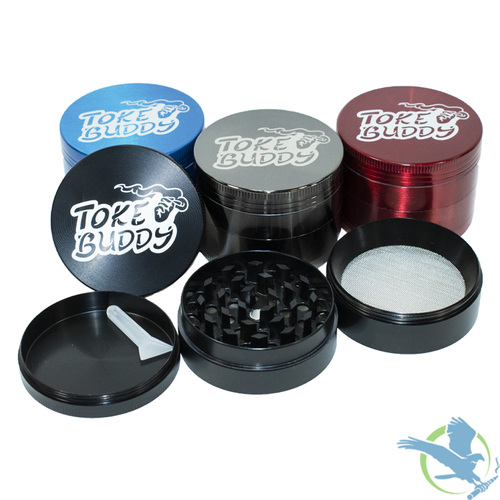 Toke Buddy Metal Grinder - 4 Parts - 63MM