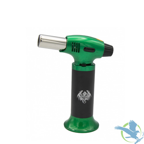 Special Blue Inferno Professional Butane Torch, Green