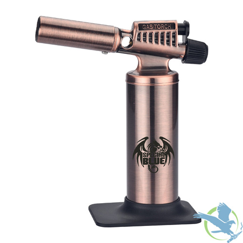 Special Blue Heavy Metal Professional Butane Torch - Bronze