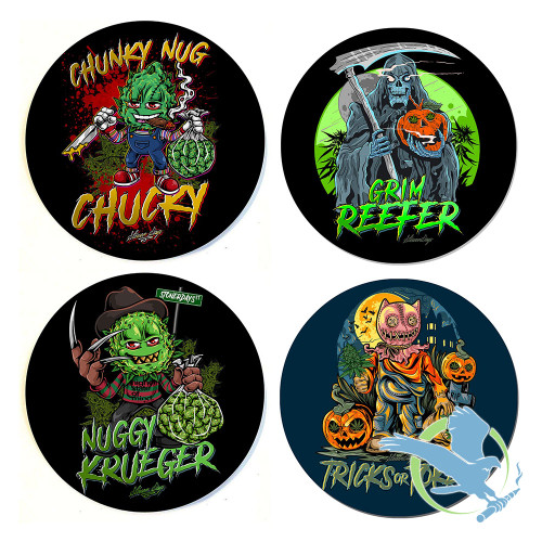 Halloween Dab Mats Collection By StonerDays