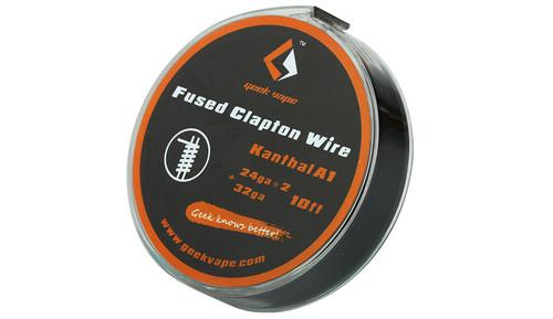 Geek Vape Fused Clapton Wire 'Kanthal A1'( 24ga*2 + 32ga) 10ft 1pc (MSRP $9.00)