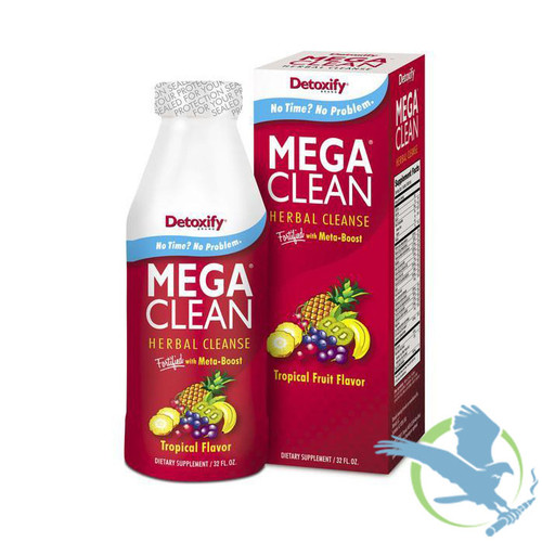 Detoxify Mega Clean Herbal Cleanse 32 fl. oz. (MSRP $60.00)