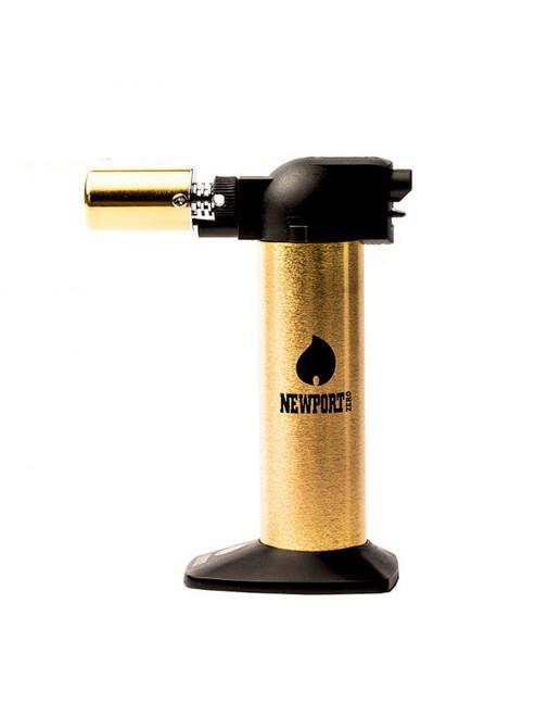 Newport Zero 6 Inch Butane Torch Golden Series (MSRP $35.00)