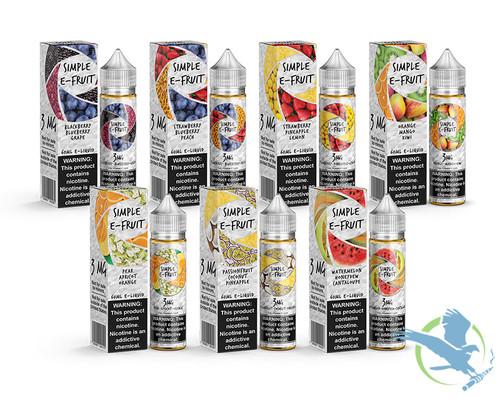 Simple E-Fruit E-Liquid 60mL