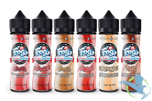 Dr. Fogs Famous Ice Cream E-Liquid 60mL *Drop Ships* (MSRP $19.00)