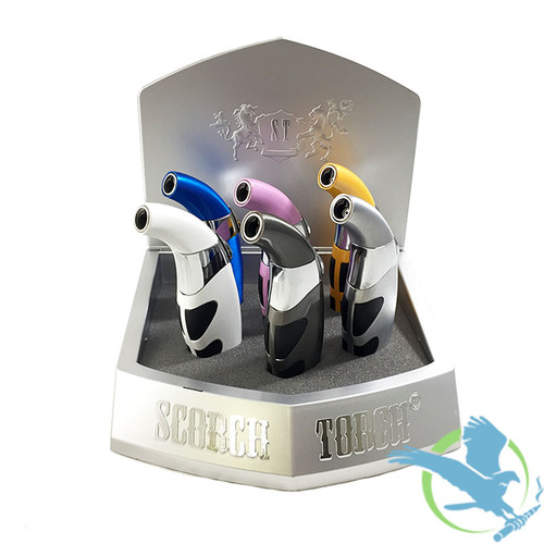 Scorch Torch 45 Degree Smooth Press Easy Grip - Assorted Colors - Display of 6 [Model 61250-1 Color] (MSRP $12.00 Each)