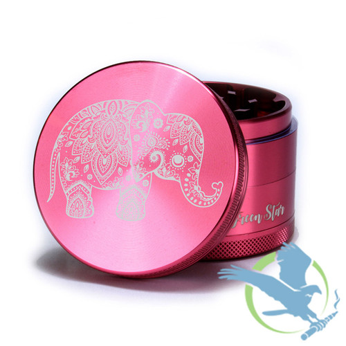 4 Piece Elephant Grinder By Green Star *Drop Ships* (MSRP $45.00)