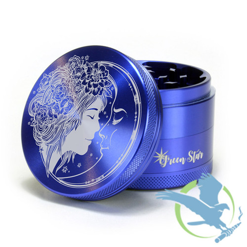 4 Piece Fairy Moon Grinder By Green Star *Drop Ships* (MSRP $45.00)
