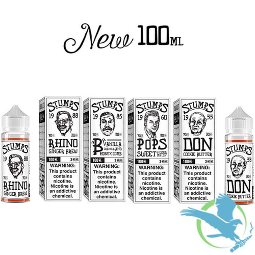 Stumps By Charlie's Chalk Dust E-Liquid 100ML (MSRP $30.00)