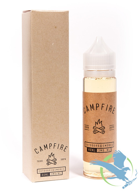 Campfire By Charlie's Chalk Dust E-Liquid 60ML (MSRP $22.00)