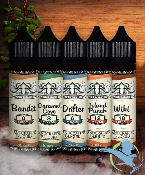 River Reserve E-Liquid 60ML Page Two *Drop Ships* (MSRP $25.00)