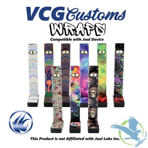 Vape Central Group Vinyl Skins For Juul
